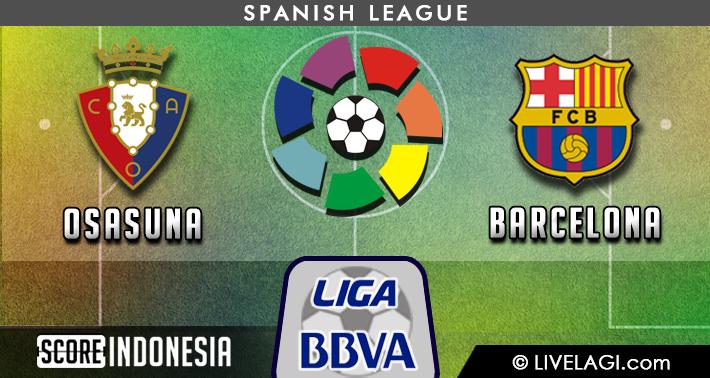 Prediksi Osasuna vs Barcelona