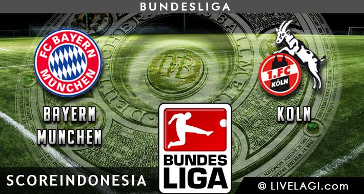 Prediksi Bayern Munchen vs Koln