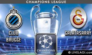 Prediksi Club Brugge vs Galatasaray
