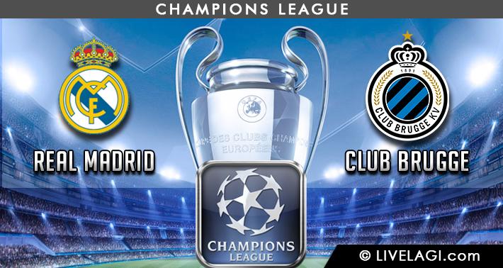 Prediksi Real Madrid vs Club Brugge