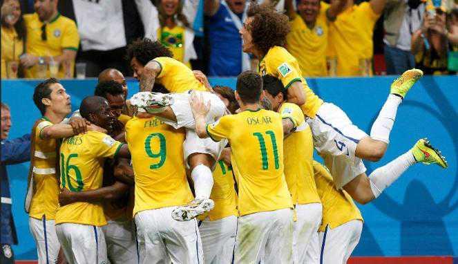 7 Fakta Unik Usai Brasil Hajar Kamerun