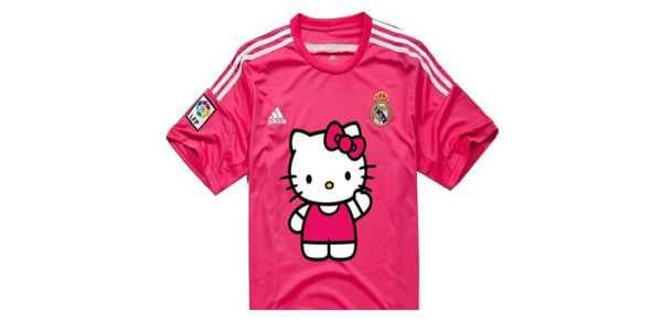 Jersey Pink Real Madrid Jadi Bahan Ejekan