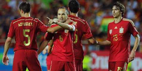 Prediksi El Salvador vs Spanyol 8 Juni 2014