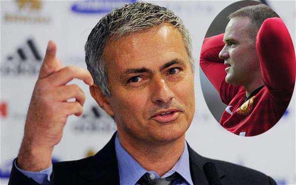 Rooney Dapat Dukungan Dari Jose Mourinho