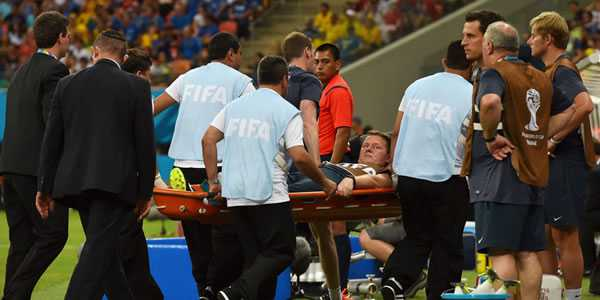 Tim Medis Inggris Cedera Akibat Selebrasi Berlebihan Sturridge