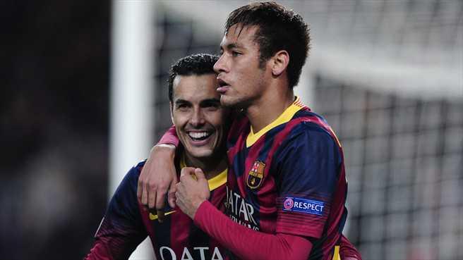 Kontra Elche, Neymar dan Pedro Rodriguez Diturunkan