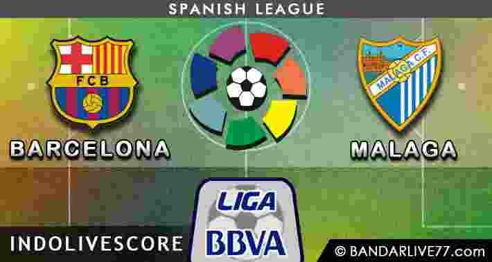 Bursa Pasar Taruhan dan Preview Barcelona vs Malaga 21