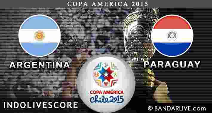 Preview Prediksi Argentina vs Paraguay 01 Juli 2015 Copa America