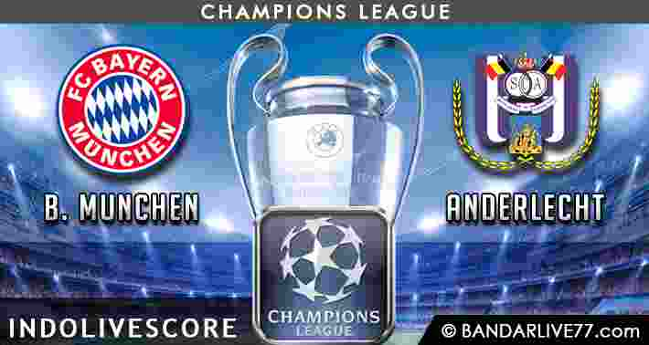Prediksi Bayern Munchen vs Anderlecht