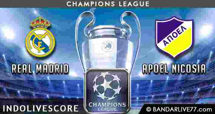 Prediksi Real Madrid vs Apoel