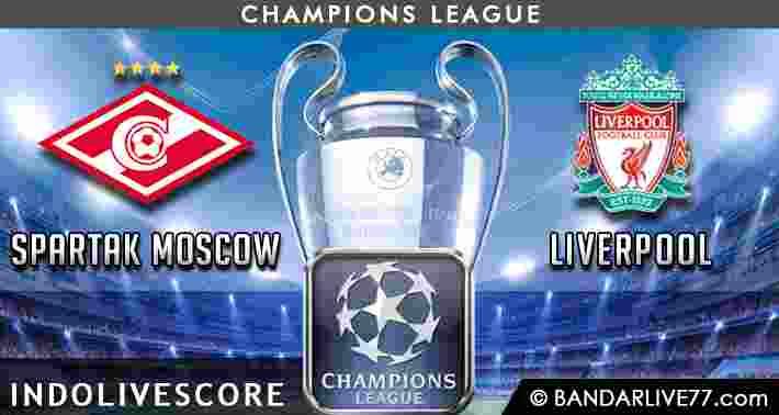 Prediksi Spartak Moscow vs Liverpool
