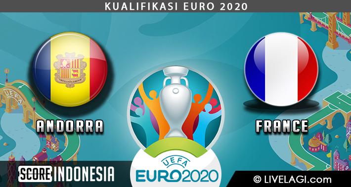 Prediksi Andorra vs France