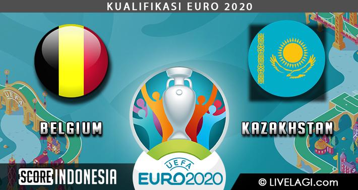 Prediksi Belgium vs Kazakhstan