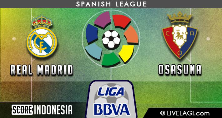 Prediksi Real Madrid vs Osasuna