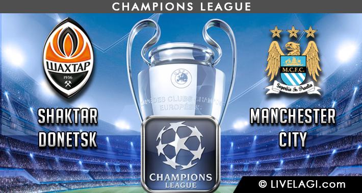 Prediksi Shaktar Donetsk vs Manchester City