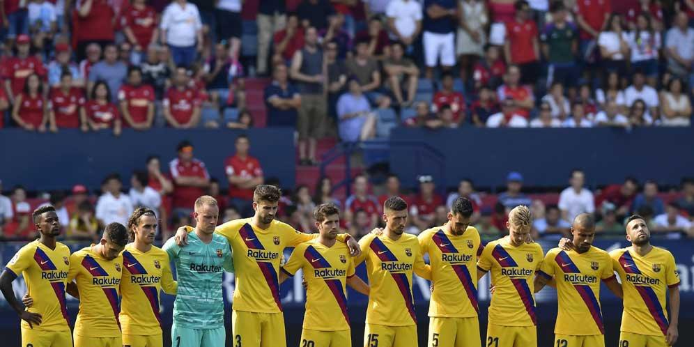 Barcelona Gagal Meraih Kemenangan Melawan Osasuna, Laga ...