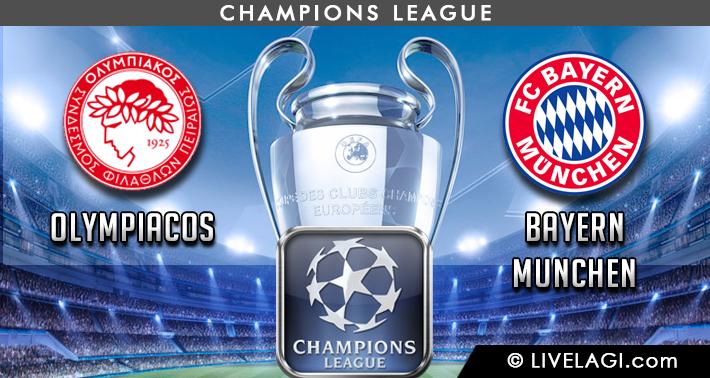 Prediksi Olympiacos vs Bayern Munchen