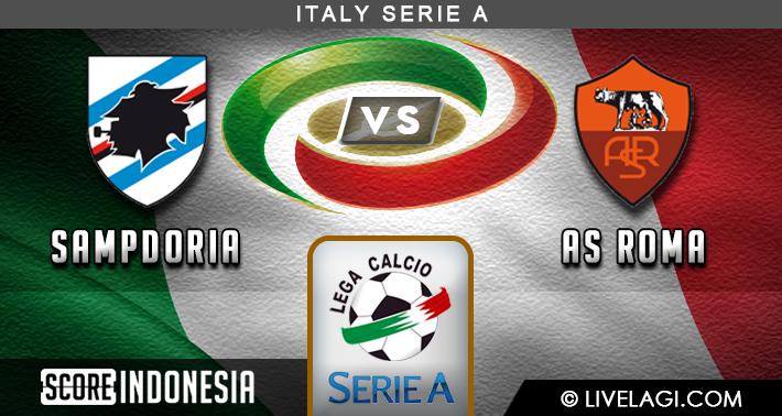 Prediksi Sampdoria vs AS Roma