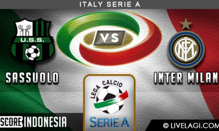 Prediksi Sassuolo vs Inter Milan